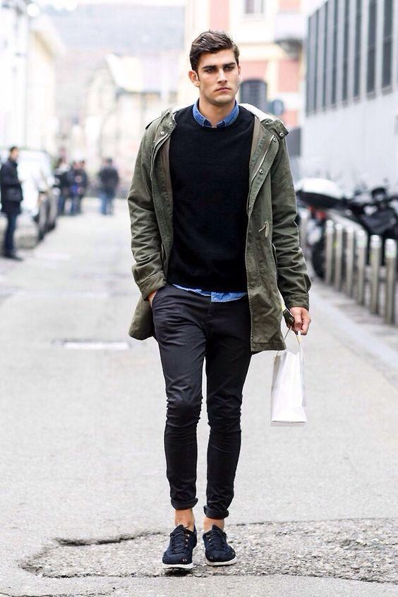 Slim, tapered street style.