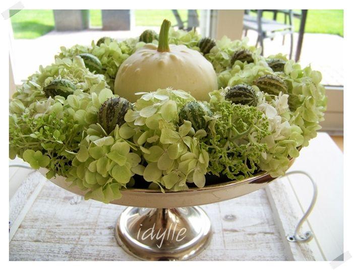 herfst decoratie met pompoenen - Google zoeken