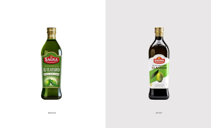 Olio Sagra Restyling Packaging on Packaging of the World - Creative Package Design Gallery