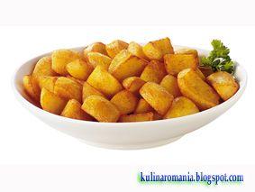 Шедевры кулинарии: Жареный картофель. Как получить аппетитную корочку...