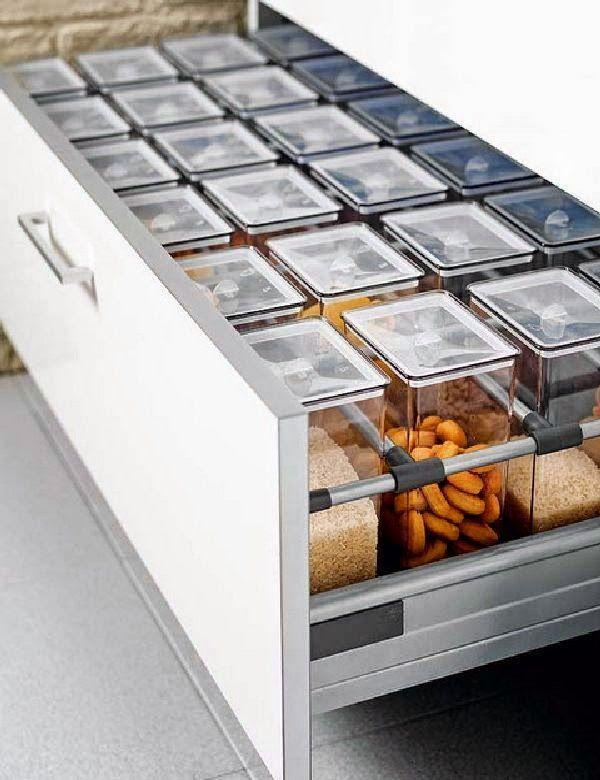 Cinq Fourchettes etc.: 19 idées de rangement pour la cuisine!                                                                                                                                                      Plus
