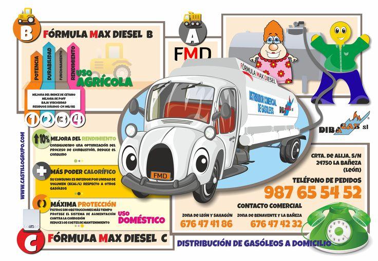 Dibagas, Servicio de Gasóleo a Domicilio http://www.castillogrupo.com