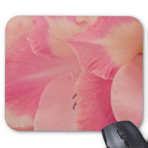 Gladiola Petals Mouse Pad