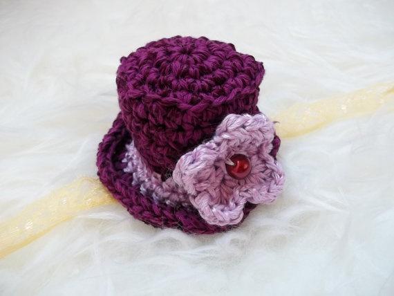 miniature crochet cap  photo props by MonikaTomko on Etsy, €10.00