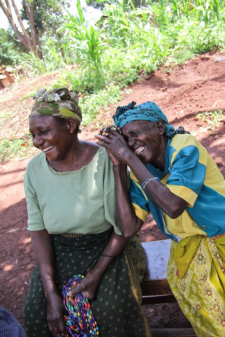 laughing together - that's what friends are friends for... Reminds me of Maya Angelou's poem 'When old folks laugh'