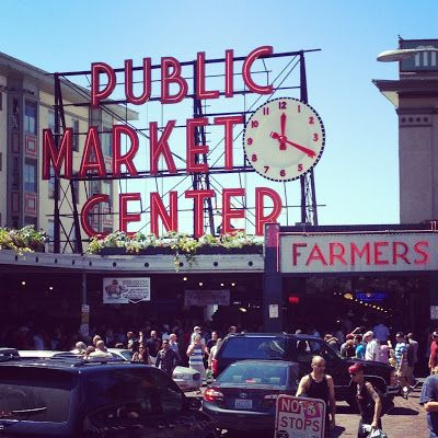 Visit Seattle's Pikes Market.  I've been there and loved it. Actually loved all of Seattle. #bucketlist. From Abbie C.
