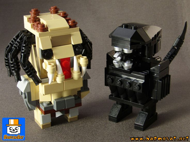 https://flic.kr/p/WAQ5cw | ALIEN VS PREDATOR BRICKHEADZ | Something new for me, I build   those models especially for sale as sets (Lego parts + building instructions), means and will not sale instructions separately. For now they are on auction on ebay but I can accept offers directly via PM or my website. To follow auction, see here: www.ebay.fr/itm/322589488278?ssPageName=STRK:MESELX:IT&am...