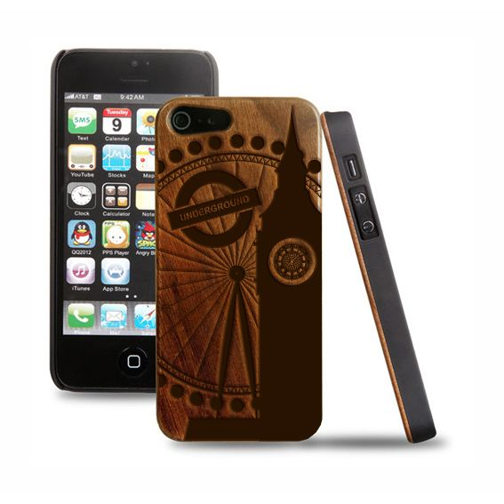WORLD ON WOOD! Prima tappa: Londra! Cover in legno iPhone 5-5s http://ow.ly/rUzw0