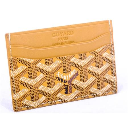 Fashion Goyard Card Holder Orange