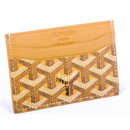 Fashion Goyard Card Holder Orange