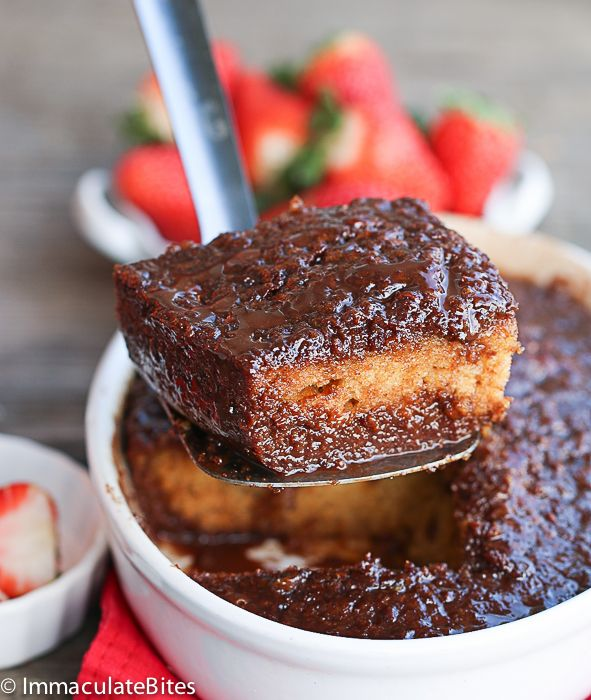 Malva Chocolate Pudding Cake -A Decadent traditional South African Dessert