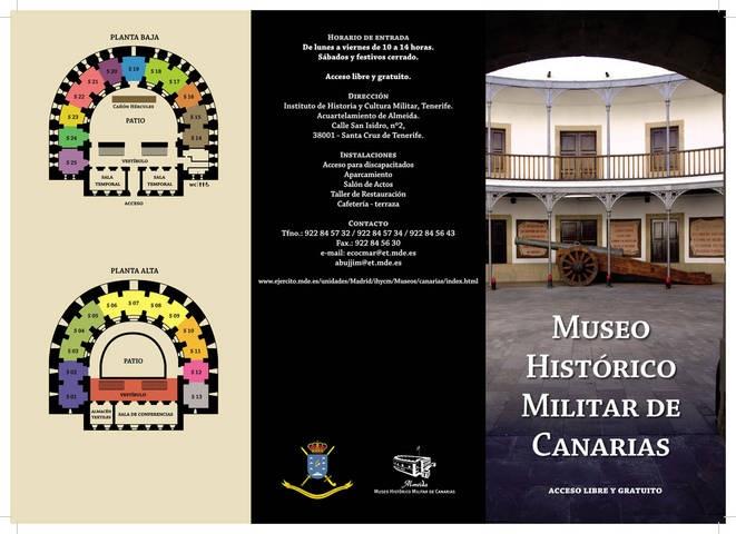 Se refuerza la promoción turística del Museo Histórico Militar de Canarias - http://canariasday.es/2013/03/15/se-refuerza-la-promocion-turistica-del-museo-historico-militar-de-canarias/
