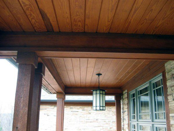 Top 70 Best Porch Ceiling Ideas - Covered Space Designs ...