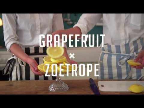 果実ラボ[GRAPEFRUIT×ZOETROPE] - YouTube