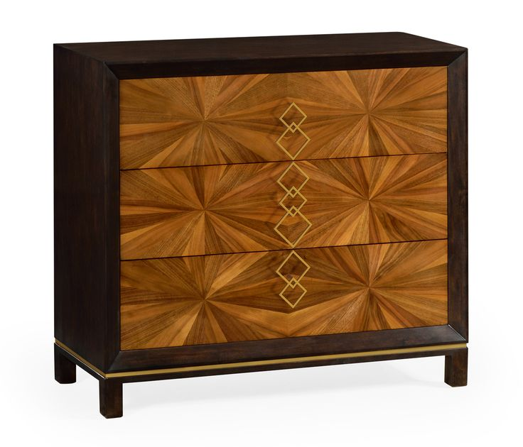 Walnut bookmatched chest of drawers  #JCmodern #jonathancharles #jonathan_charles_russia #jonathancharlesrussia #jonathancharlesfurniture