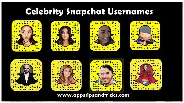 Snapchat Usernames – List of Celebrity Snapchat Usernames