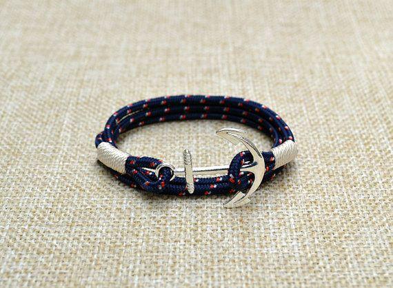 Ancrage du Pacifique Bracelet nautique Bracelet Charm par SailWays  34,81€