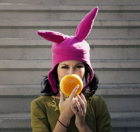You smell like ointment and pee… Louise Belcher of Bob's Burgers cosplay http://www.facebook.com/jennylorenzofan