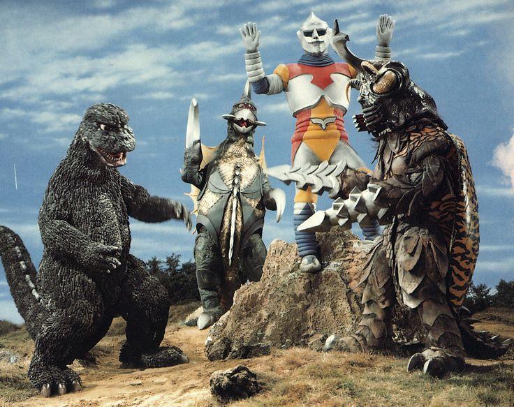 Godzilla VS Megalon - no contest!!!