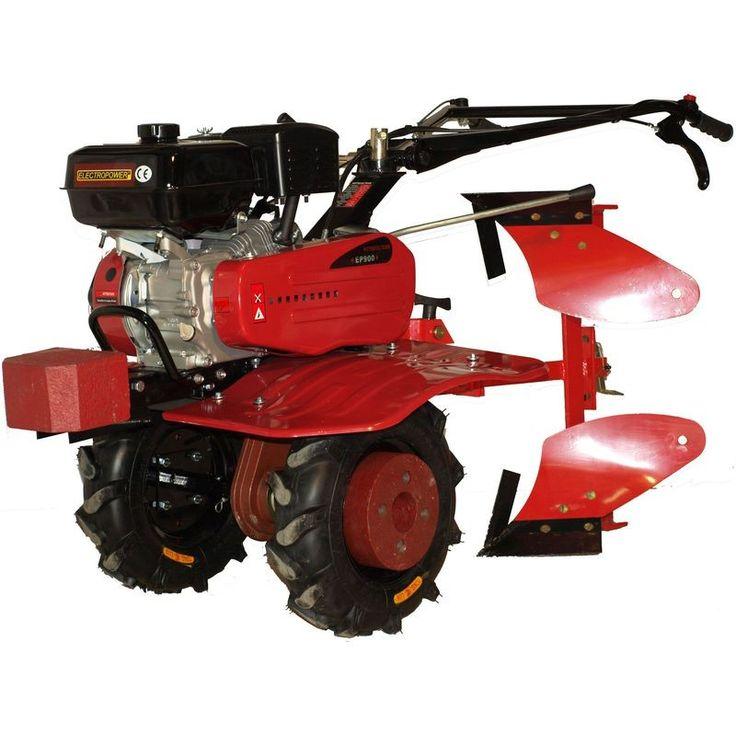 Motoculteur, motobineuse 80 cm 6.5cv avec charrue brabant 1/2 tour achat sur www.letsdiscount.fr