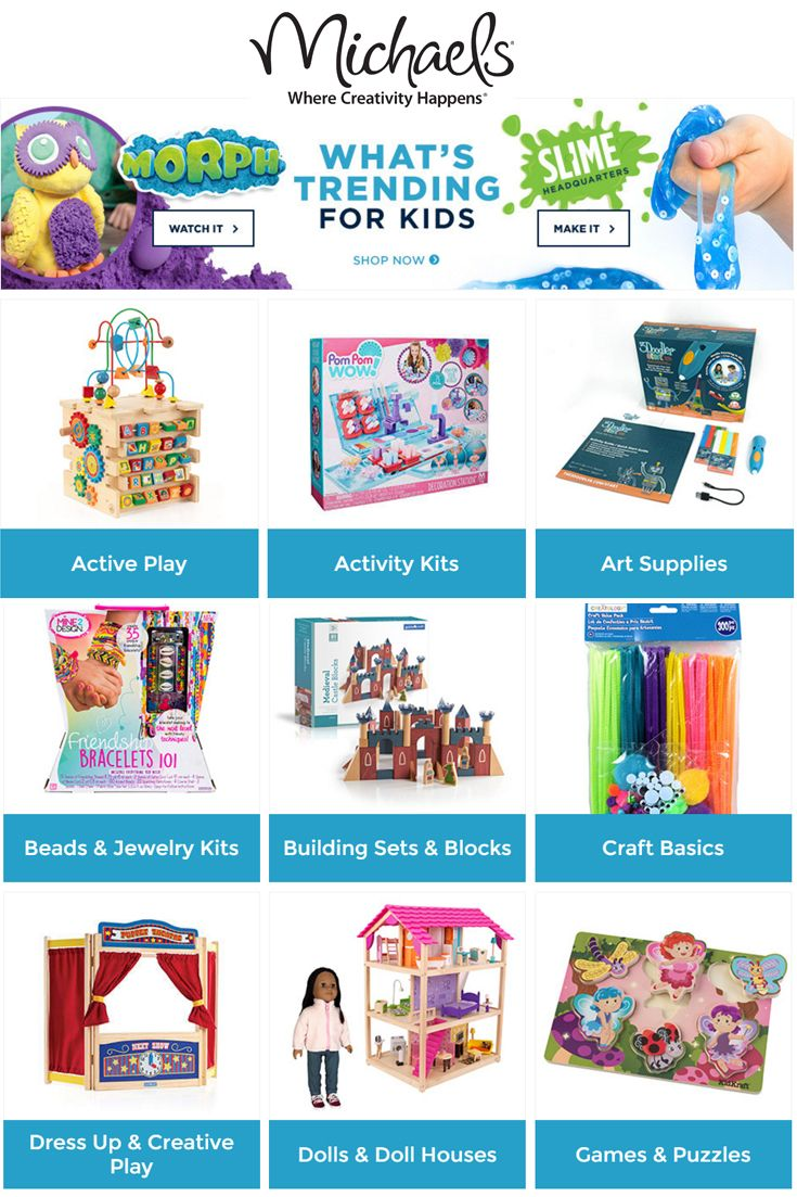 Get Inspired And Shop Fun Crafts For Kids With Michaels O