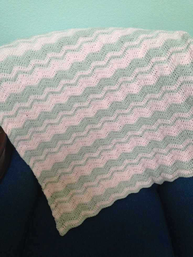 Baby girl blanket. Crochet baby afghan. Pink and gray blanket. Baby girl bedding. Pink bedding. Pink nursery decor. Baby girl nursery. Baby shower gift idea.