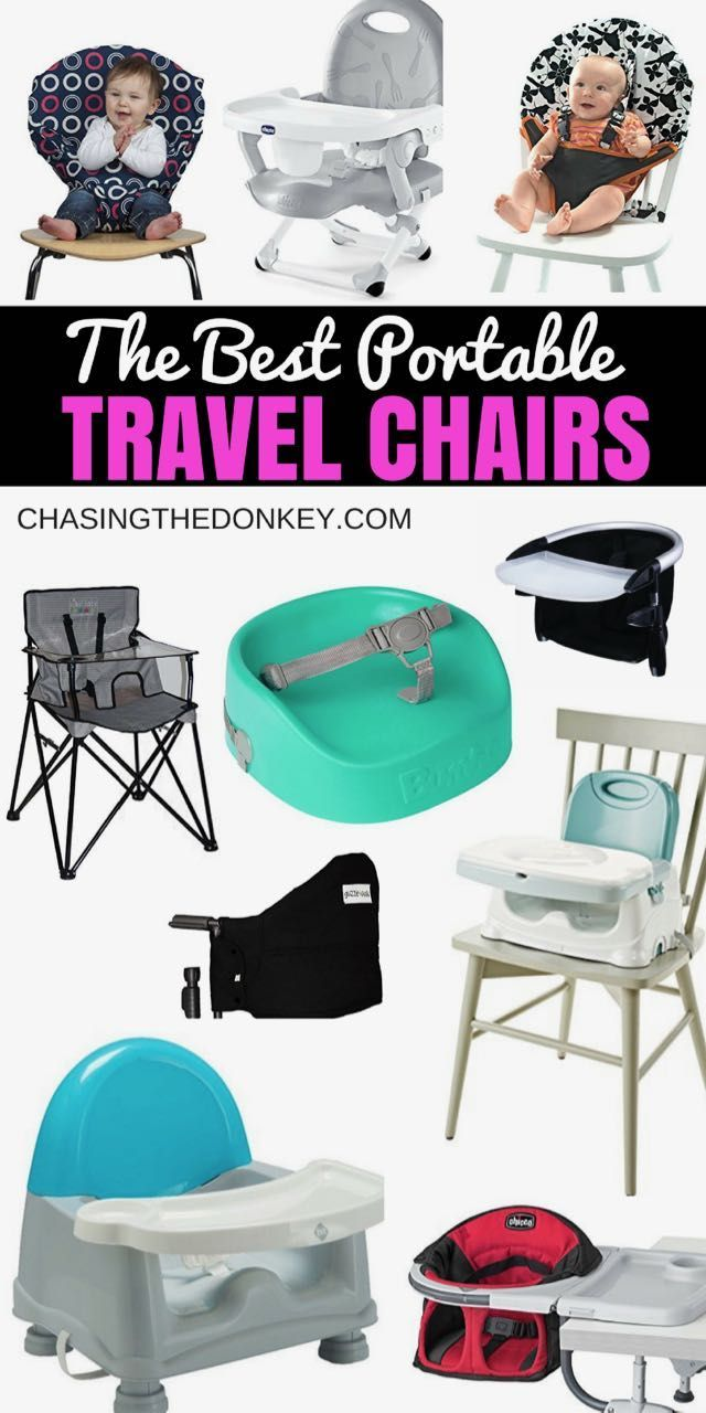2020 Guide To The Best Portable High Chairs Chasing The Donkey