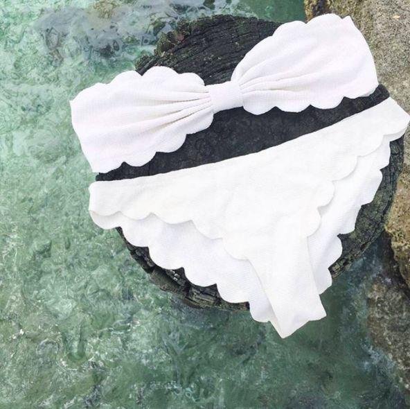 scallop bikinis #marysia