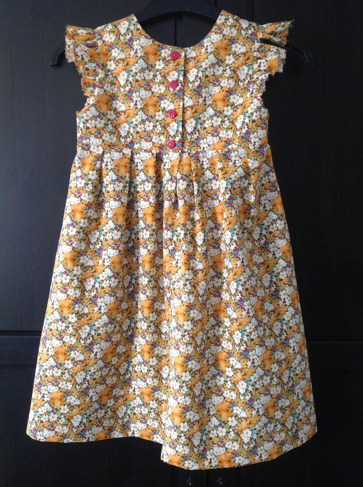 Back view of Geranium Dress.