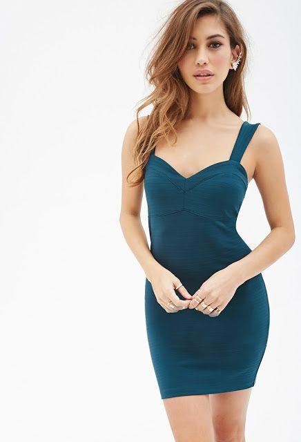 Vestidos ajustados de moda para fiesta   Colección de vestidos Forever 21