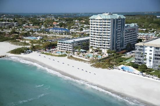 Lido Beach Resort in Sarasota....have Tiki Bar...  :) Booked a room for the weekend of July 4th for fireworks and boat races. Can't wait!!!
