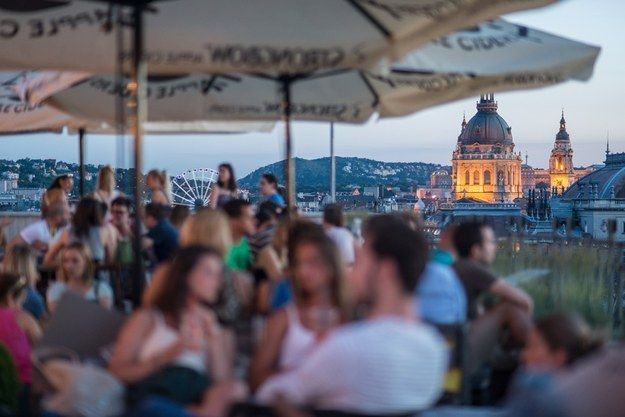 Rooftop Bars | Community Post: 12 Things You Should Try In Budapest Which Might Not Be In Your Guidebook
