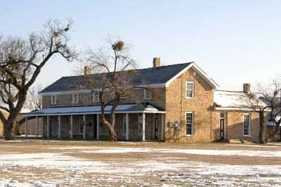 Fort Concho National Historic Site near San Angelo, Texas;  Photos courtesy Barclay Gibson