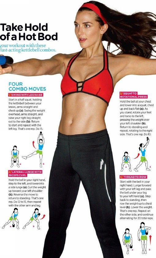 Take hold of a hot bod ~ Kettle bell workouts