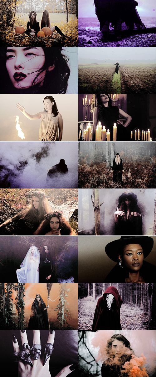 witches: For these beings, fall is ever the normal season, the only weather, there be no choice beyond. Where do they come from? The dust. Where do they go? The grave. Does blood stir their veins? No: the night wind.