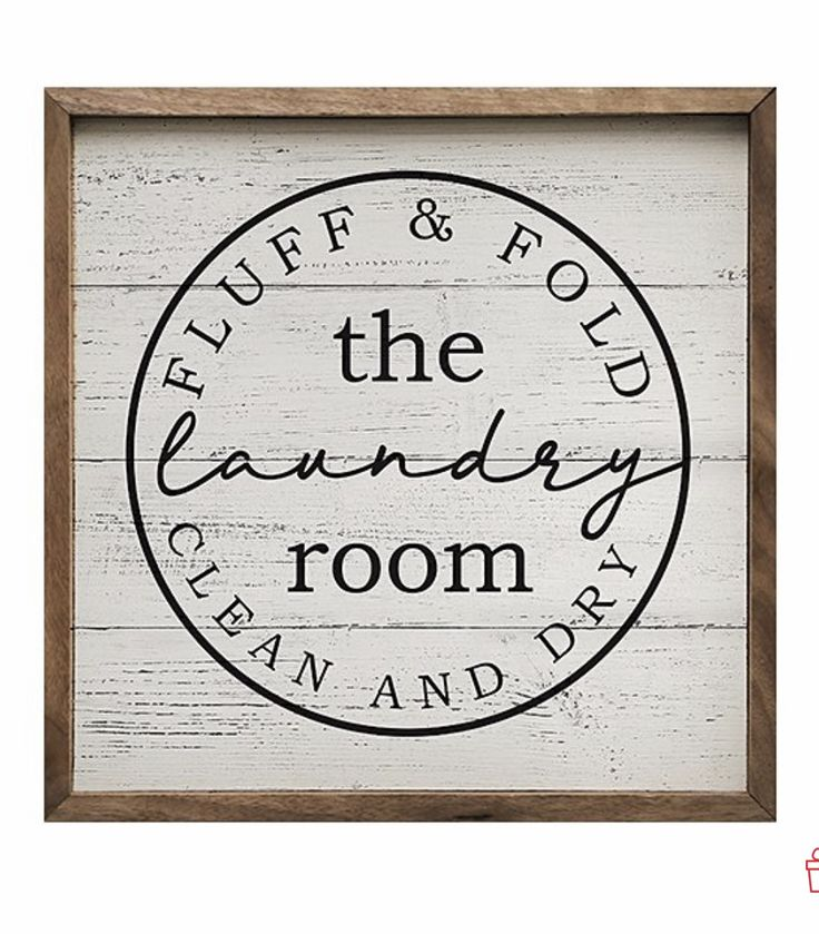 Pin by Amy Stuwilliam on Laundry Day | Wall signs, Fold ...