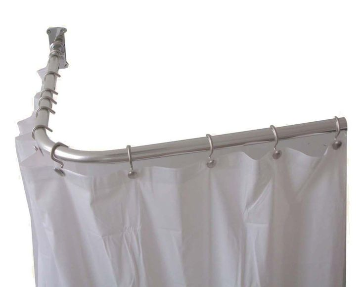 Simple Shower Curtain Ring Design ~ http://www.lookmyhomes.com/choosing-appropriate-shower-curtain-ring/
