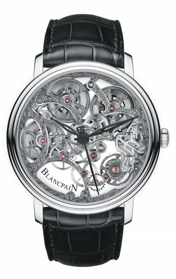 Blancpain Villeret Skeleton 8 Days