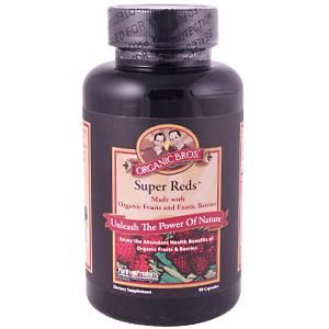 Purity Products Organic Super Reds - 90 Capsules