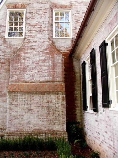 Best 25 Whitewashed Brick Ideas Only On Pinterest
