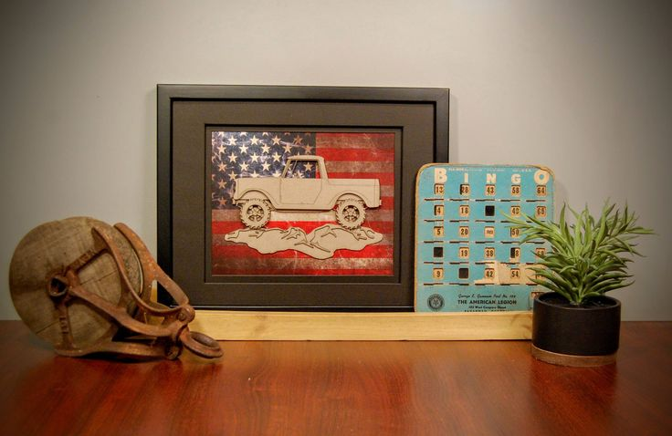 Excited to share the latest addition to my #etsy shop: International Harvester IH Scout 80 800, Classic 4x4 Truck, Man Cave, Vehicle Wall Art, Layered Laser Cut, Gift for Him, Office Art, US flag http://etsy.me/2iBZ48A