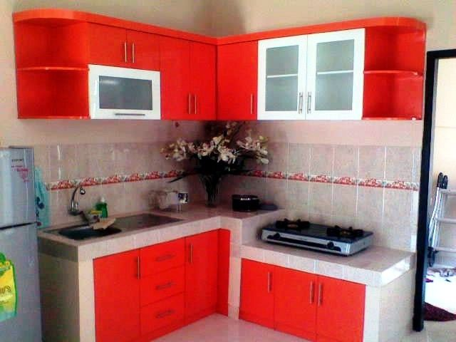 Desain Dapur Warna Hijau