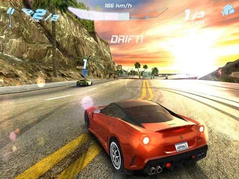 Giochi corse auto HD per Retina Dislpay