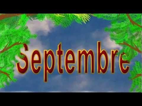 Les mois de l'année - alain le lait (French months of the year)
