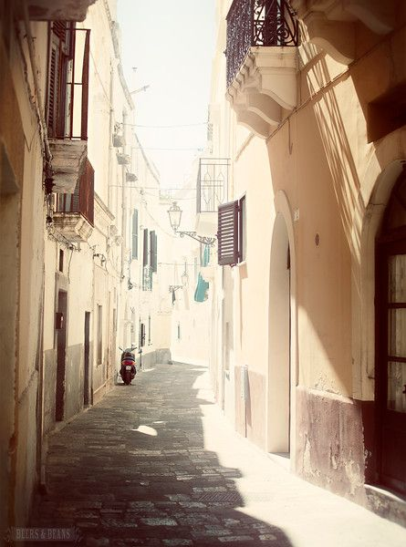 8 Amazing...Things to Love About Puglia, Italy >> Stunning little town of Gallipoli, #Italy with amazing sea views.