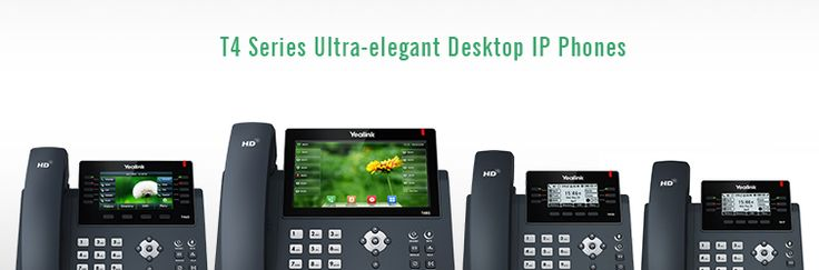 Yealink T4 series Hosted PBX handsets