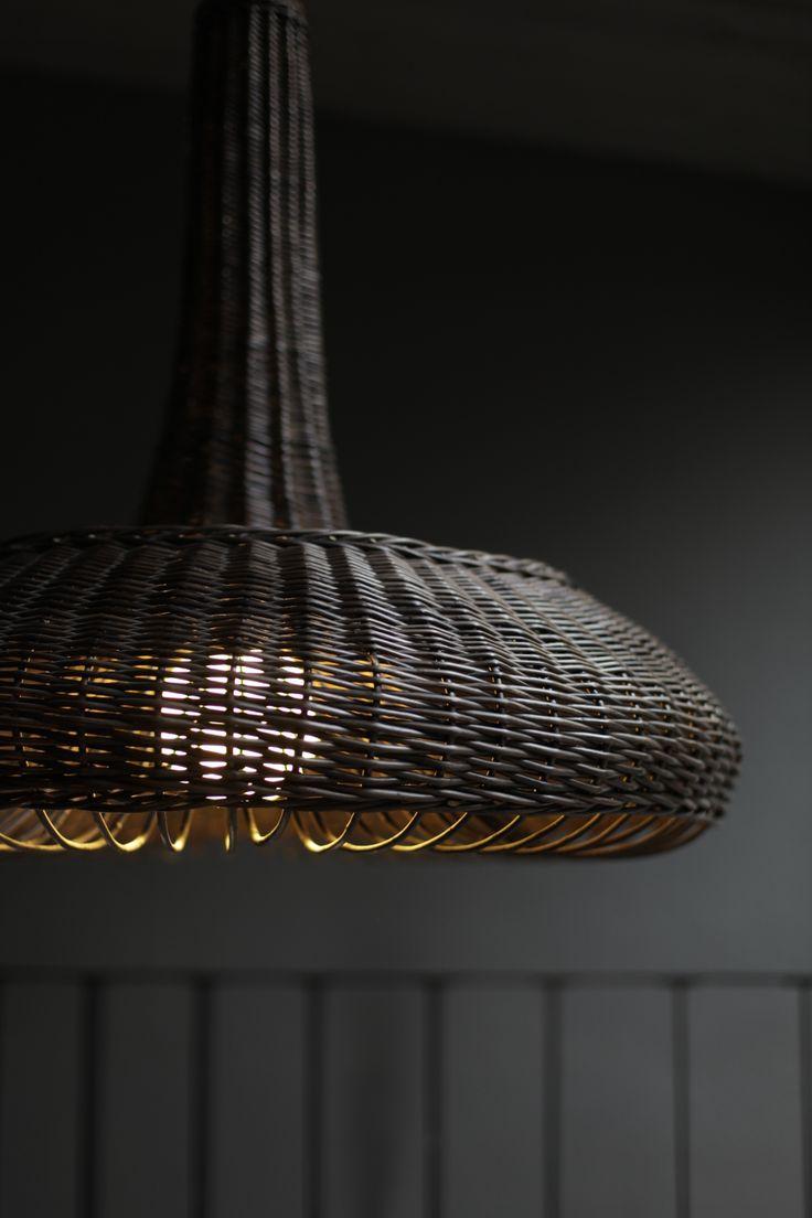 wicker lamp LIGHT OF NATURE. Design:MAAJO