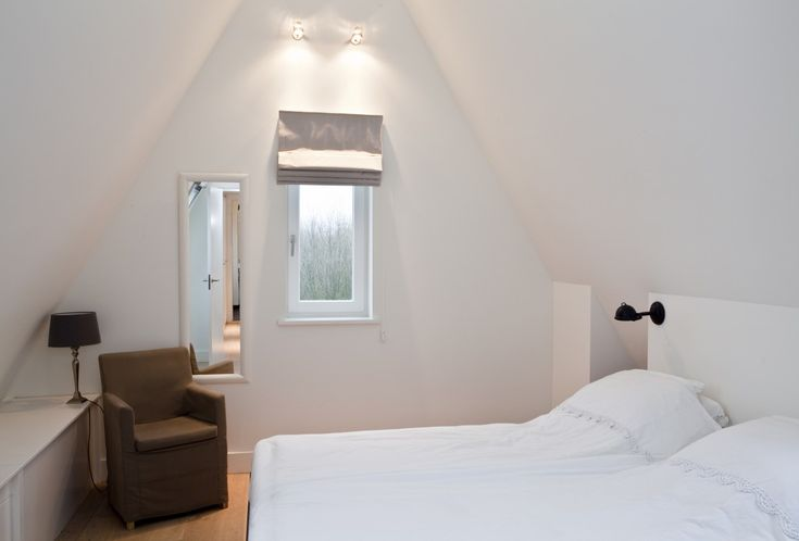 Slaapkamer op de zolderverdieping.