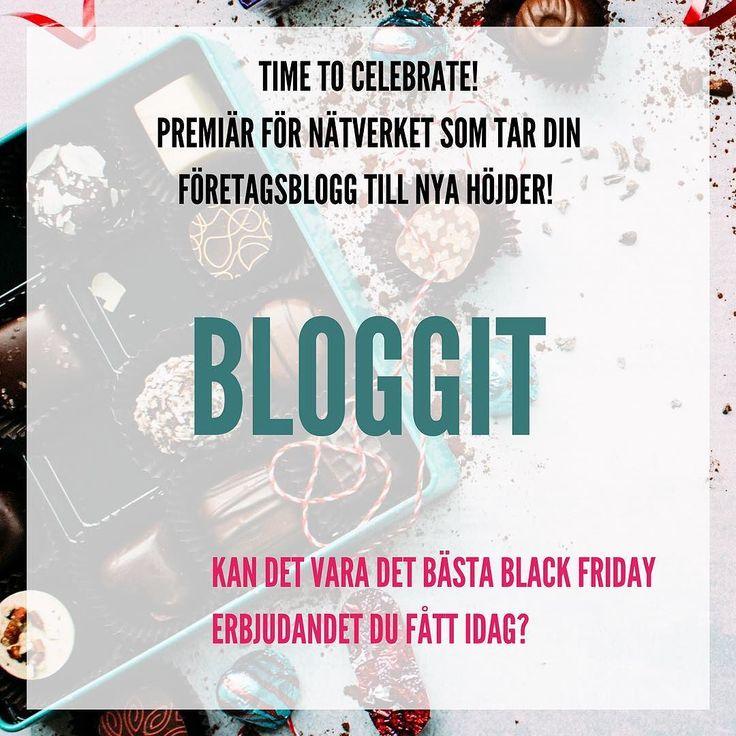 Det är dags att MAXA användandet av din företagsblogg  Äntligen finns det ett ställe för företagare där du kan få stöd utbildning och inspiration och samtidigt nätverka med andra företagare för att använda din blogg som marknadsföringsverktyg.  BLACK FRIDAY erbjudandet gäller endast idag :) http://ift.tt/2zAmPFi