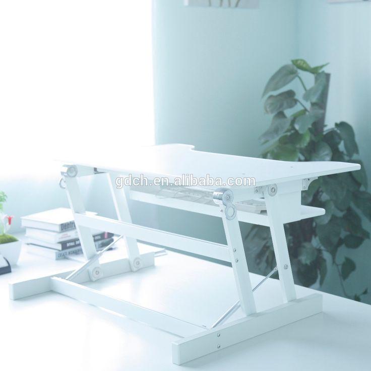 Table Top Desk On Pinterest Adjustable Table Furniture Hardware
